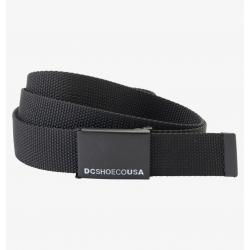 Ceinture DC Shoes Web Belt Black 2021 pour homme
