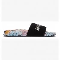 Dc Shoes Slide Basquiat Black Multi 2021