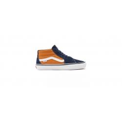Shoes Vans Skate Grosso Mid Navy Orange 2021 pour