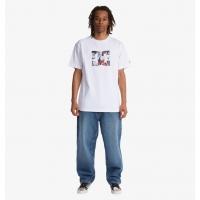 Tee Shirt DC Shoes DC X JMB Star In Cipher White 2021