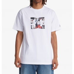 Tee Shirt DC Shoes DC X JMB Star In Cipher White 2021 pour homme