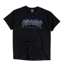 Tee Shirt Thrasher Godzilla Charred Black 2021 pour homme