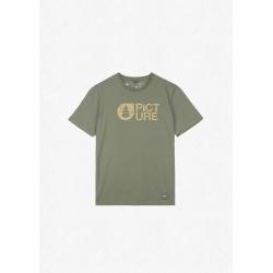 Tee Shirt Picture Basement Cork Dusty Olive 2022 pour