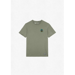 Tee Shirt Picture Badge Tree Dusty Olive 2022 pour