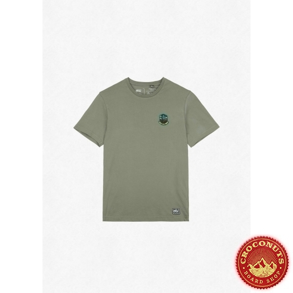 Tee Shirt Picture Badge Tree Dusty Olive 2022