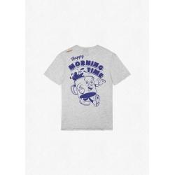 Tee Shirt Picture Cartoon BP Grey Melange 2022 pour