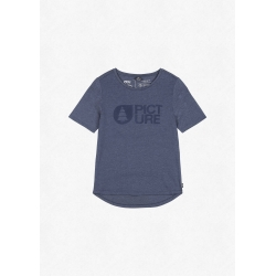 Tee Shirt Picture Fall Dark Blue Melange 2022 pour femme
