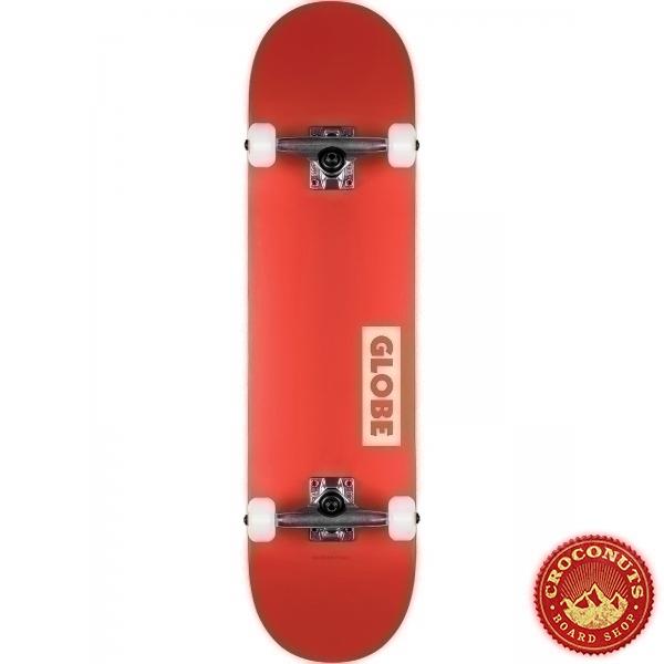 Skate Complet Globe Goodstock Red 7.75 2021