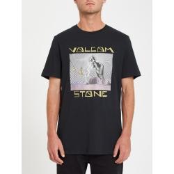Tee Shirt Volcom Stone Strike Black 2021 pour