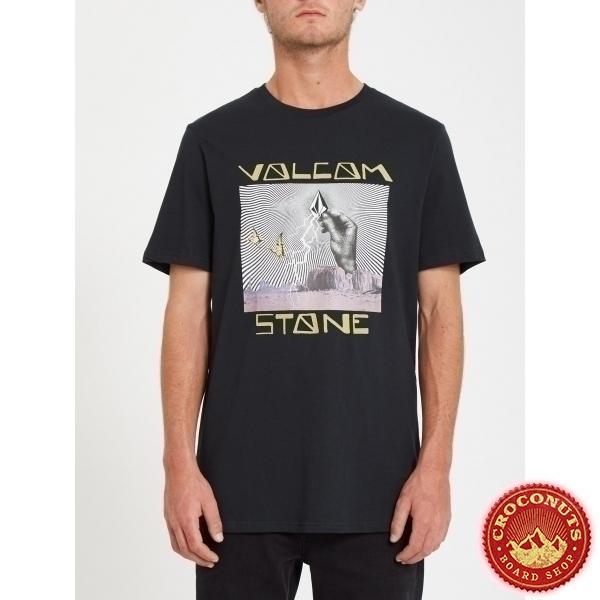Tee Shirt Volcom Stone Strike Black 2021