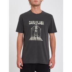 Tee Shirt Volcom Dark Flash Black 2021 pour