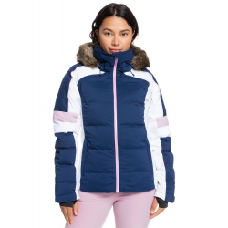 Veste Roxy Snowblizzard Medieval Blue 2021 pour femme
