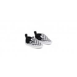 Shoes Vans Baby Slip On Crib Black Checkerboard 2021 pour enfant