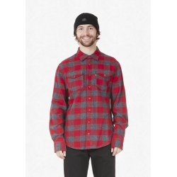 Chemise Picture Hillsboro Red 2022 pour homme
