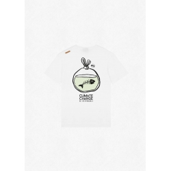 Tee Shirt Picture Fish White 2022 pour