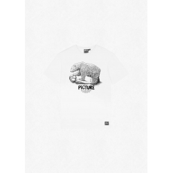 Tee Shirt Picture Dad And Son Bear White 2022 pour