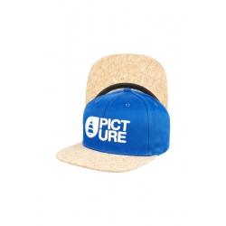 Casquette Picture Qilo Electric Blue 2022 pour