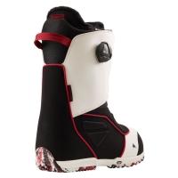 Boots Burton Ruler Boa White Black Red 2022