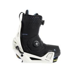 Pack Boots Burton STEP ON Photon Black + Fixations Burton STEP ON Stout White 2022 pour homme