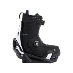Pack Boots Burton STEP ON Photon Black + Fixations Burton STEP ON X White Black 2022 pour homme