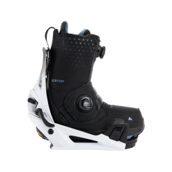Pack Boots Burton STEP ON Photon Black + Fixations Burton STEP ON Genesis White Black 2022 pour homme