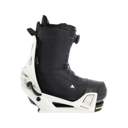 Pack Boots Burton STEP ON Ruler Black + Fixations Burton STEP ON Stout White 2022 pour homme