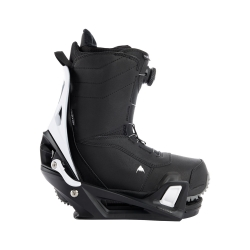 Pack Boots Burton STEP ON Ruler Black + Fixations Burton STEP ON X White Black 2022 pour homme