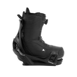 Pack Boots Burton STEP ON Ruler Black + Fixations Burton STEP ON Genesis Black 2022 pour homme
