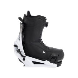 Pack Boots Burton STEP ON Ruler Black + Fixations Burton STEP ON Genesis White Black 2022 pour homme