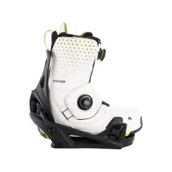 Pack Boots Burton STEP ON Photon Stout White Yellow + Fixations Burton STEP ON Black 2022 pour homme
