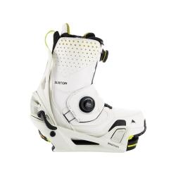 Pack Boots Burton STEP ON Photon Stout White Yellow + Fixations Burton STEP ON Stout White 2022 pour homme
