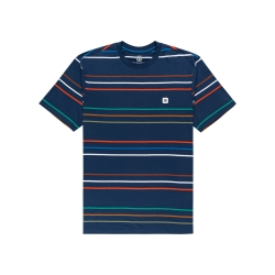 Tee Shirt Element Hovden Stripes Insigna Blue 2022 pour