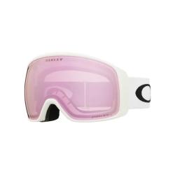 Masque Oakley Flight Tracker XL Matte White Prizm HI Pink 2022 pour homme