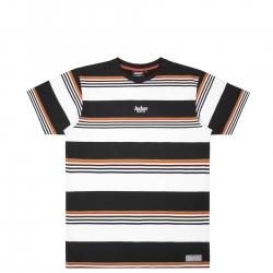 Tee Shirt Jacker Neo Retro Stripes Black White 2022 pour