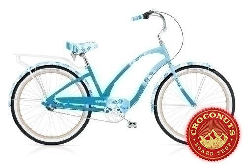 20 sur beach cruiser electra femme daisy blue bike pas cher. Black Bedroom Furniture Sets. Home Design Ideas