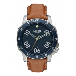 Montre Nixon Ranger Leather Navy / Saddle 2016