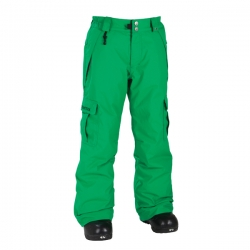 Pantalons 686 Mannual Ridge Insulated Kelly Green 2012 pour enfant, pas cher