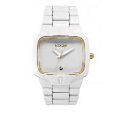 Montre Nixon Player White Gold 2014