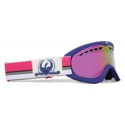 Masque Dragon Dxs Nautical Pink Ionized + Rose Lens 2012 pour homme, pas cher