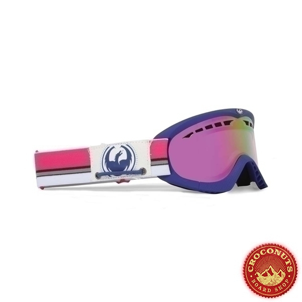 Masque Dragon Dxs Nautical Pink Ionized + Rose Lens 2012
