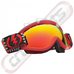 Masque Electric Eg1s Rids Cheryl Maas Bronze Red Chrome 2013 pour homme, pas cher