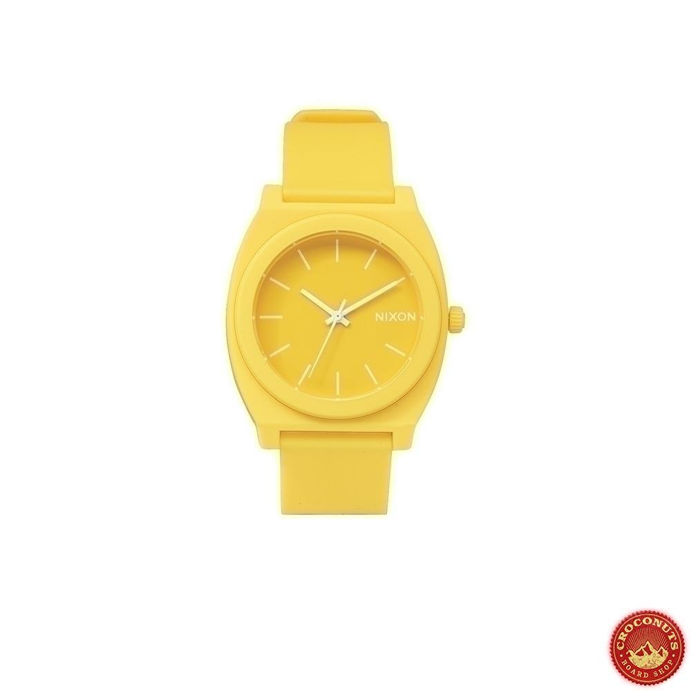 20 sur montre nixon time teller matte yellow streetwear pas cher. Black Bedroom Furniture Sets. Home Design Ideas