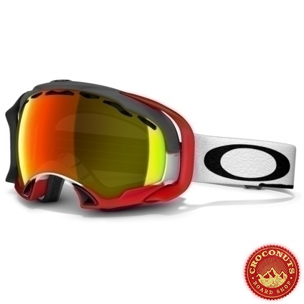 Masque Oakley Splice Simon Dumont Post Apocalyptic Fire Iridium 2014