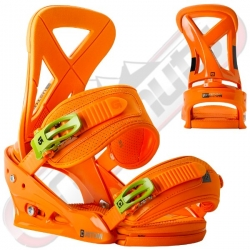 Fixations Burton Custom Orange 2014