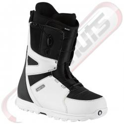 Boots Burton Moto White Black
