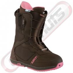 Boots Burton Day Spa Brown Pink 2014 pour femme, pas cher