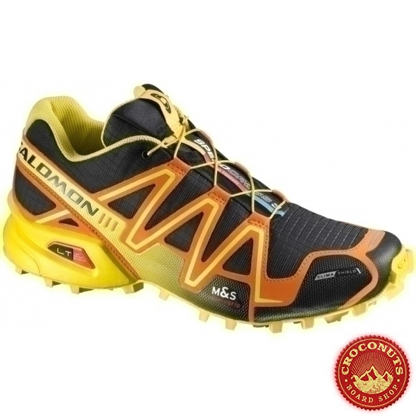 Salomon Black Yellow Cs Speedcross Chaussures Clem Sur 3 35 cvwYEq6v