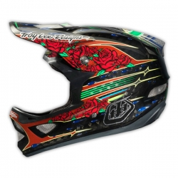 Casques Troy Lee Design D3 Sam Hill Black Carbon 2014