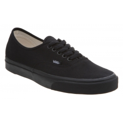 Chaussures Vans Authentic Black Black 2015