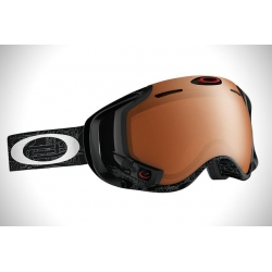 Masque Oakley Airwave 1,5 Silver Text Black Iridium 2015